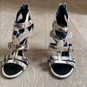 Giuseppe Zannotti Snake Skin Heels